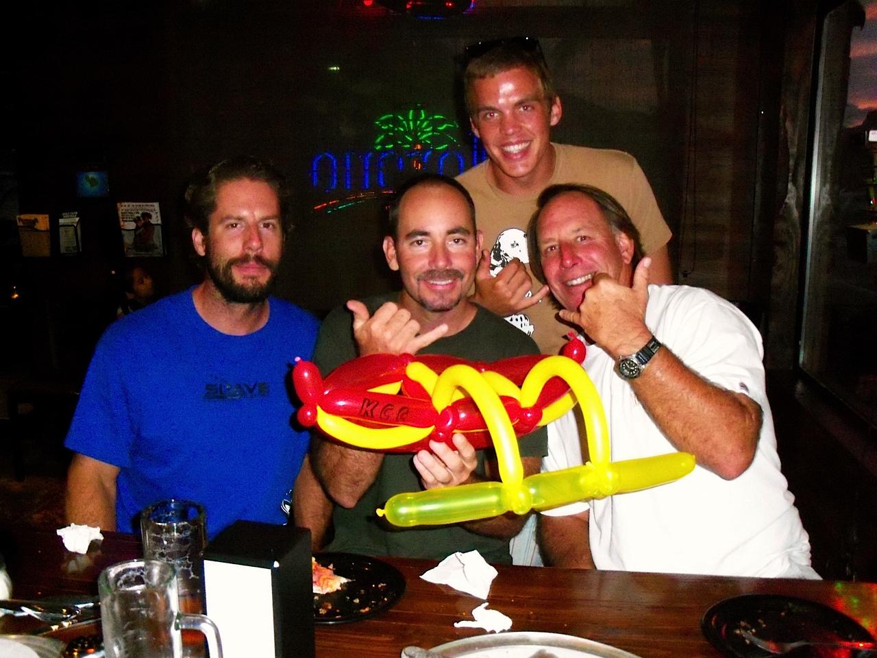 outrigger canoe balloon
